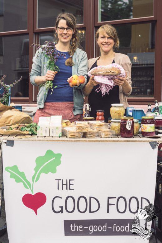 THE GOOD FOOD - Marktstand