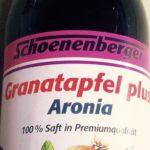 Granatapfel plus Aronia