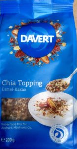 Chia Topping // Dattel-Kakao