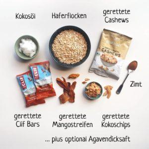 Granola Zutaten